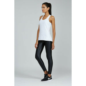 The perfect white tank for working out from Studio 128.