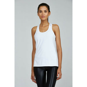 Shop for the perfect, white workout tank from Studio 128.