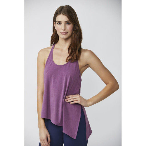 Assymetrical Dark Crocus Tank from DYI Available from Studio 128.