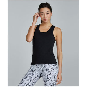 Built in bra tank from Prism Sport available at Studio 128.