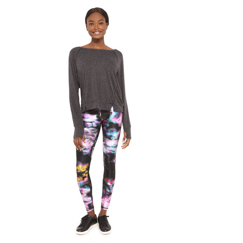 Blurred lines leggings from Terez available at Studio 128.