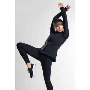 DYI fleece jacket carried at Studio 128, the best in high end workout jackets.