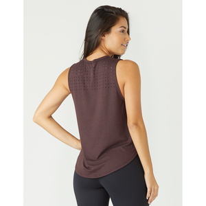 Laser cut tanks available at Studio 128, the best online activewear boutique.