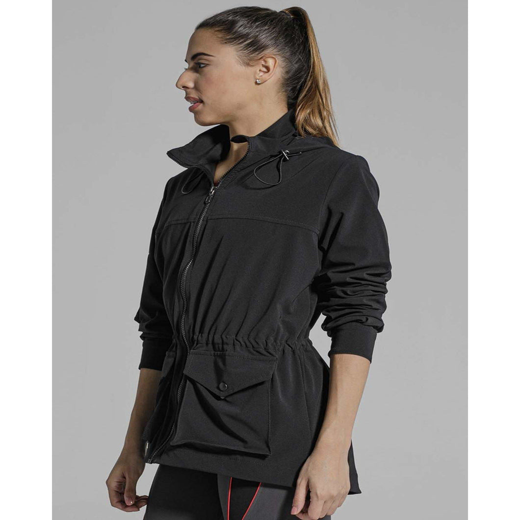 The perfect black jacket for your post workout look from Studio 128.