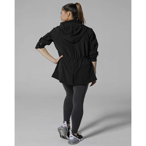 Stylish black jackets for your post workout look from Studio 128.