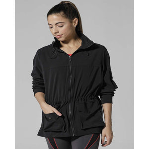Stylish jacket with pockets from 925 Fit available at Studio 128.