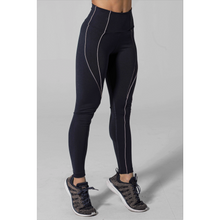 Load image into Gallery viewer, Shop navy leggings at Studio 128, the best in women's activewear.