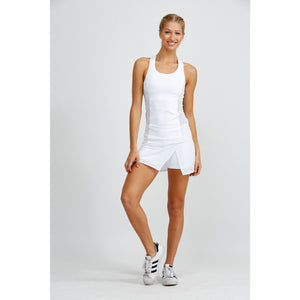 Adorable white tennis skirt from Prism Sport available at Studio 128.