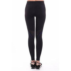 Mesh insert legging from 925 Fit carried at Studio 128.