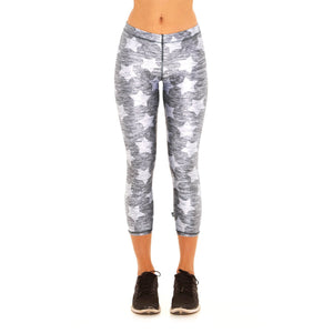 Fun and flattering capri leggings from Studio 128.