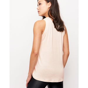 Stylish and affordable workout tanks carried by Studio 128.