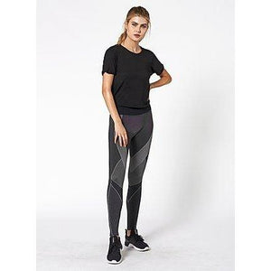 Stylish black workout tops from Studio 128.