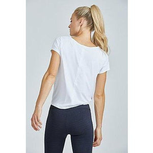 The perfect white top from Prism Sport available online at Studio 128.