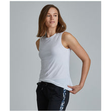 Load image into Gallery viewer, Functional white workout tanks from Studio 128.