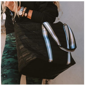 Wingman Bag- Black Camo