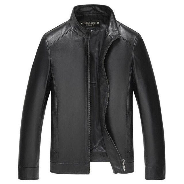 Men's Winter PU Leather Jacket