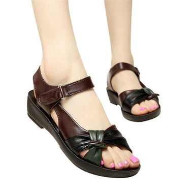 Fashion Leather Knot Sandals