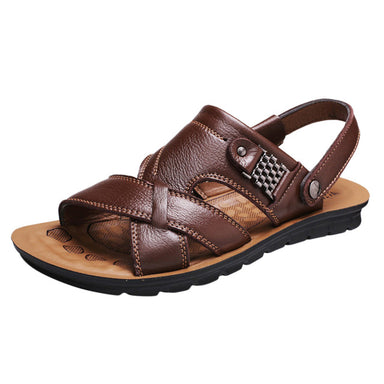 Breathable Leather Sandals