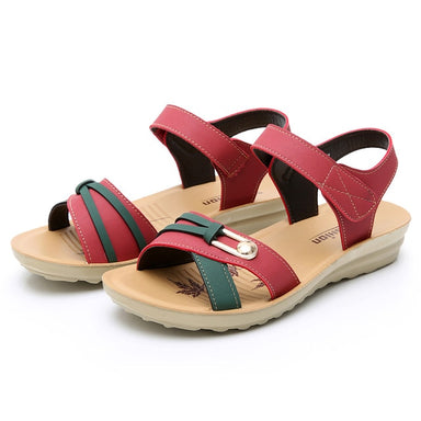 Women's Fashion Leather Sandals