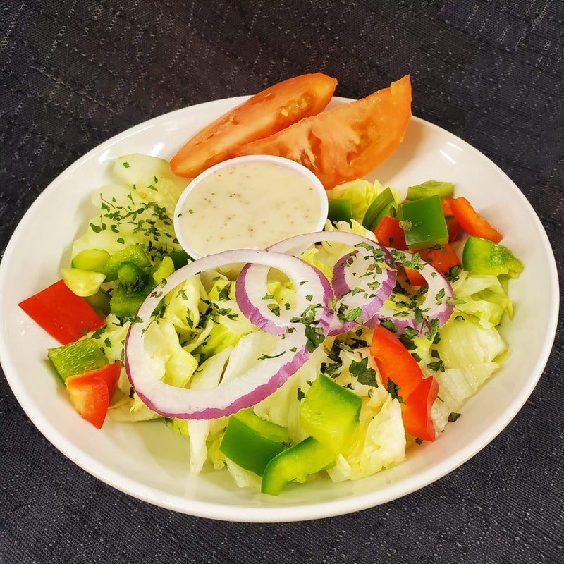 Side Garden Salad with Apple Dressing