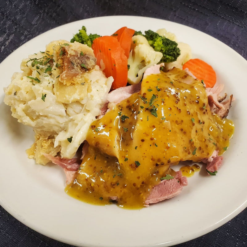 FROZEN Ham & Scalloped Potato Dinner