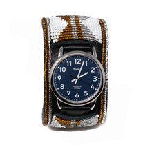 Load image into Gallery viewer, LEATHER BEADED WATCH