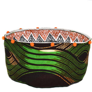 MOYO CATCH ALL BASKET, ORANGE