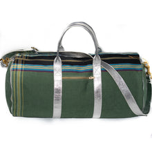 Load image into Gallery viewer, SAFARI DUFFEL BAG, OLIVE GREEN
