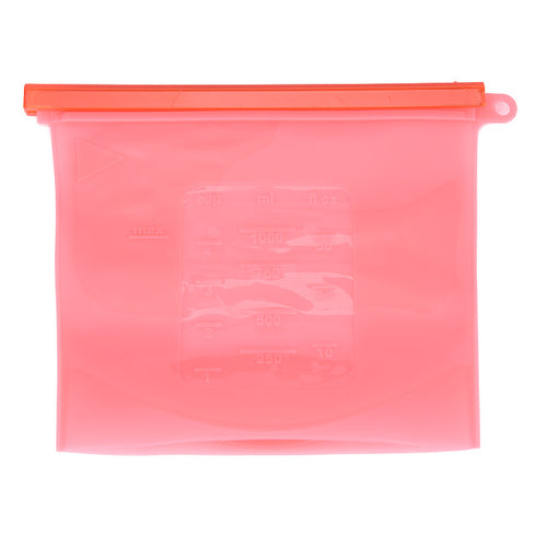 Reusable Seal Silicone Food Fresh Bag