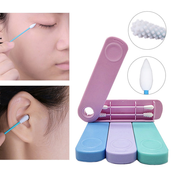 Reusable Silicone Cotton Swabs / Ear Buds