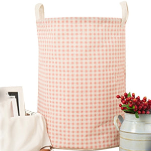Cysincos Large Drawstring Linen Cotton Storage