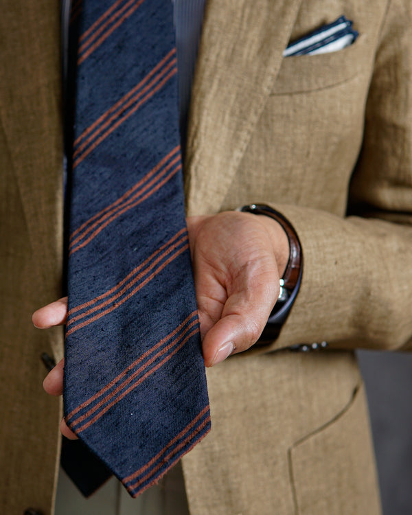 About Shantung Silk Ties