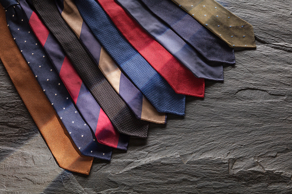Luxury Handmade Italian Silk Ties