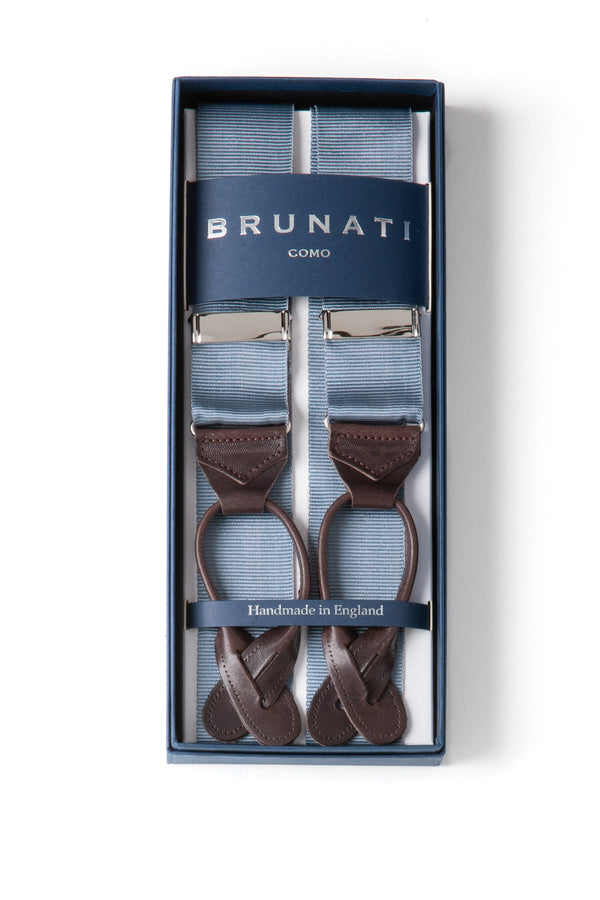 Albert Turston | Rigid Braces | James Bond Suspenders | Brunati Como