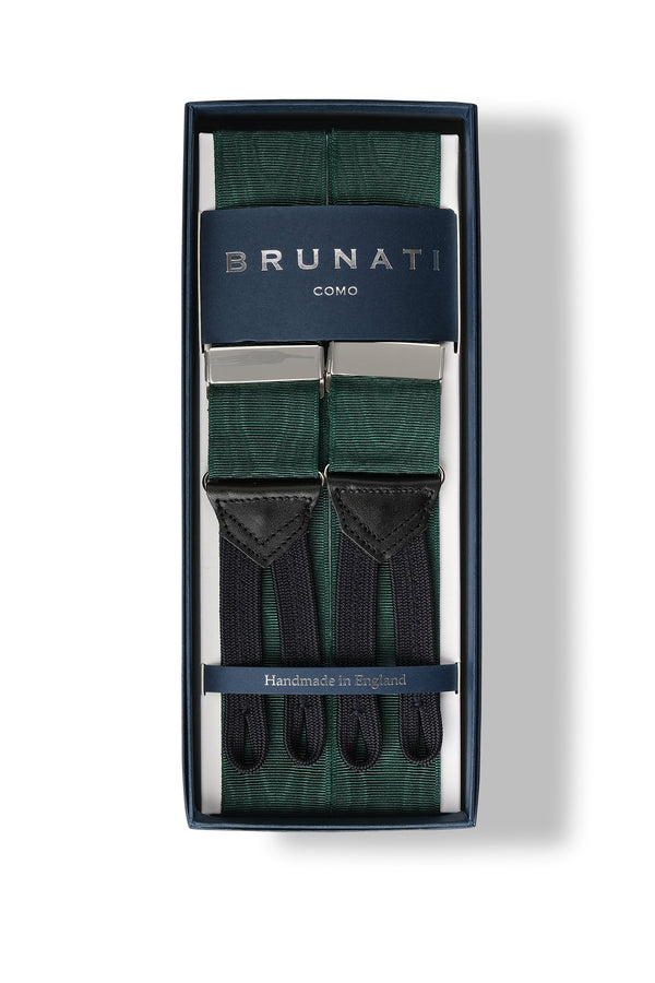 Moiré Rigid Braces - Forest - Brunati Como