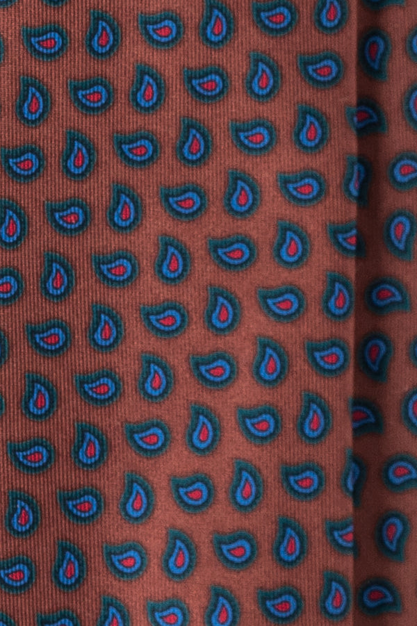 Paisley Ancient Madder Silk Tie | Brunati Como