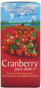 Cranberry Juice (Sunpride carton) 500ml