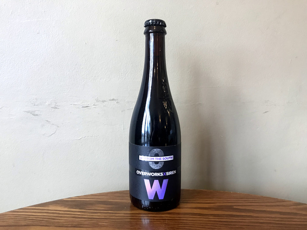 Overworks x Siren - Up From The South 6.3% 500ml