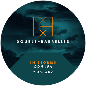 Double Barrelled - In Storms 7.4% 440ml