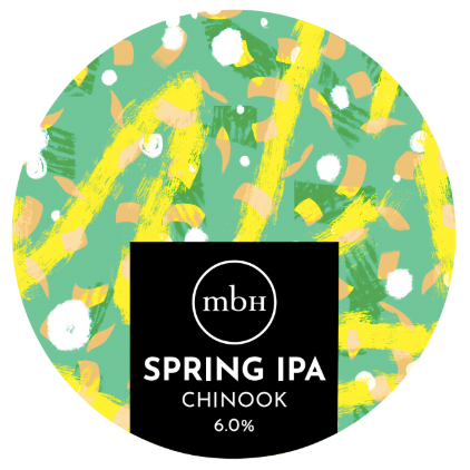Mobberley Beer House - Spring IPA 2020 (6% 440ml)