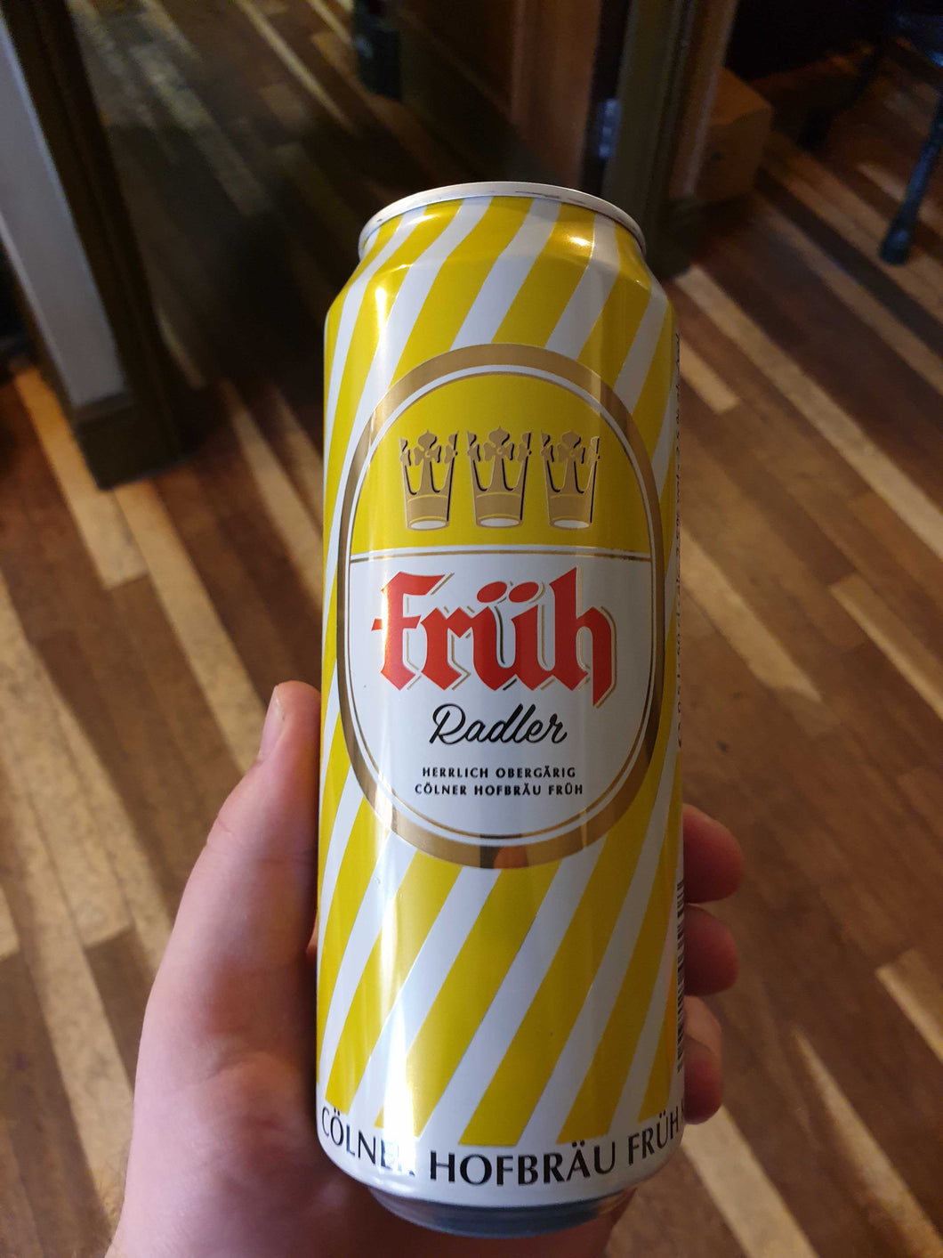 Fruh Lemon Radler 2.5% 500ml *back in stock next week*