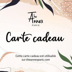 E-carte-cadeau The Annex
