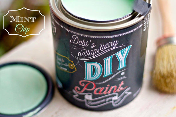 Mint Chip~DIY Paint