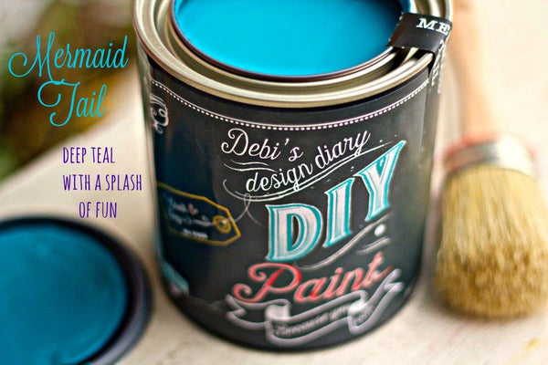 Mermaid Tail~DIY Paint