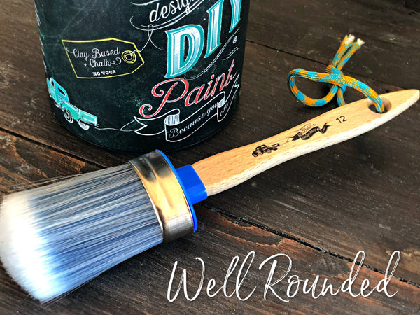 'Well Rounded' ~ DIY Synthetic Brush