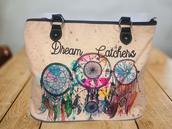 Montana West Large Canvas Dream Catcher Bag