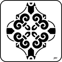 Arabesque Tiles ~JRV Stencils