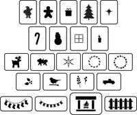 Christmas House Accessories ~ JRV Stencils
