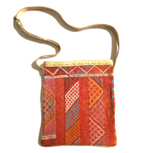 Load image into Gallery viewer, #020 Orange Sabra Silk Crossbody Bag