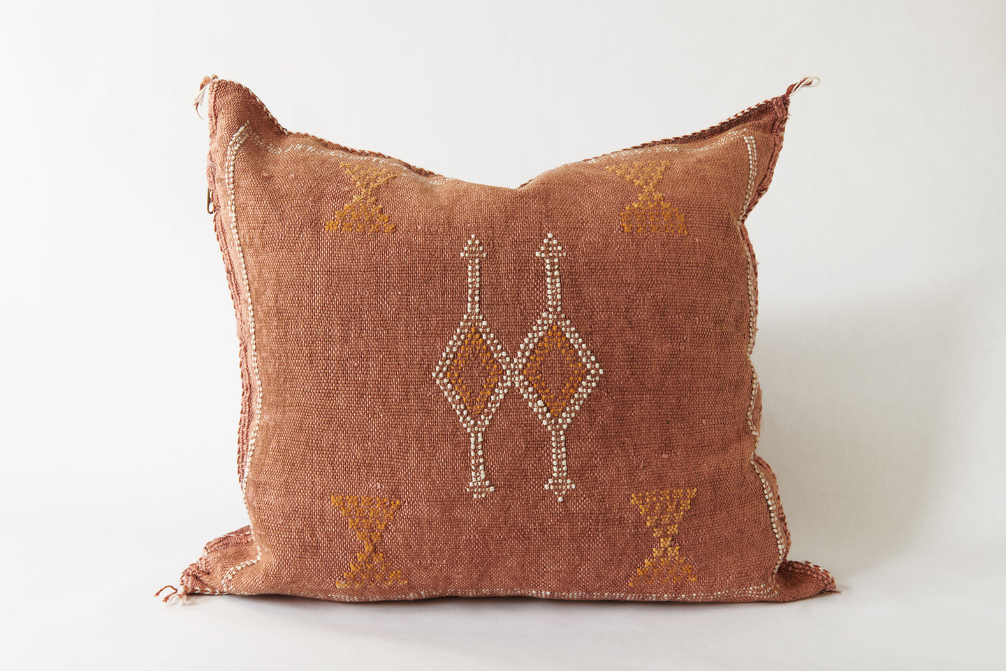 No. 32 Paprika Sabra Silk Pillow